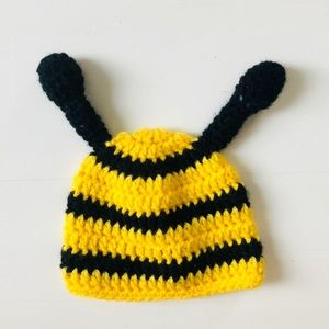 Other - Hand Crocheted Bee Hat